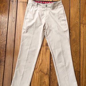 Puma Khaki Stretch Golf Pants Waist 28/Length 30
